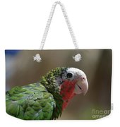 Beautiful Look At At The Profile Of A Conure Parrot Weekender Tote Bag