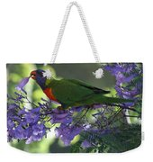 Beautiful Lorikeet Weekender Tote Bag