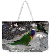 Beautiful Lorikeets Weekender Tote Bag