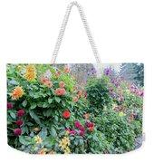 Beautiful Lot Of Dahlias,butchart Gardens,victoria,canada Weekender Tote Bag