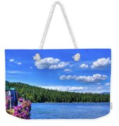 Beautiful Luby Bay On Priest Lake Weekender Tote Bag