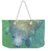 Beautiful Manatee Weekender Tote Bag
