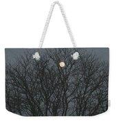 Beautiful Moon Weekender Tote Bag