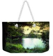 Beautiful Mountain Lake Weekender Tote Bag