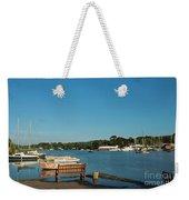 Beautiful Mylor Bridge Weekender Tote Bag