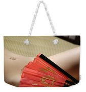Beautiful Naked Woman Body Weekender Tote Bag