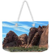 Beautiful Nature Landscape Valley Of Fire  Weekender Tote Bag