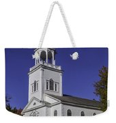 Beautiful Old First Church Weekender Tote Bag