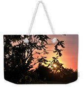 Beautiful Park Sunset View Trees Weekender Tote Bag