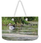 Beautiful Pelican Weekender Tote Bag