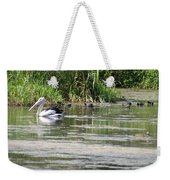 Beautiful Pelican Weekender Tote Bag