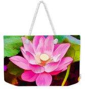 Beautiful Pink Lilies Weekender Tote Bag