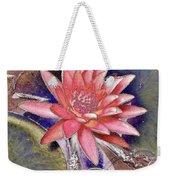 Beautiful Pink Lotus Abstract Weekender Tote Bag