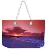 Beautiful Pink Sunset Weekender Tote Bag