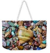 Beautiful Polished Colorful Stones Weekender Tote Bag
