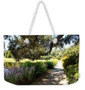 Beautiful Pond Path Weekender Tote Bag
