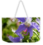 Tall Bellflower Weekender Tote Bag