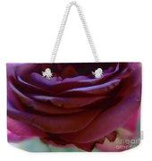 Beautiful Purple Rose Macro 2 Weekender Tote Bag