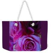 Beautiful Purple Roses 2 Weekender Tote Bag
