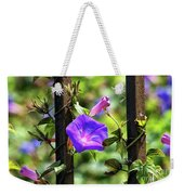 Beautiful Railroad Vine Flower II  Weekender Tote Bag