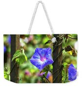 Beautiful Railroad Vine Flower Weekender Tote Bag