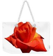 Beautiful Red Rose Photograph Vector Weekender Tote Bag
