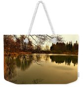 Beautiful Reflection In The Evening Hours Weekender Tote Bag