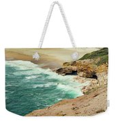 Beautiful Shore Of Nazare, Portugal Weekender Tote Bag