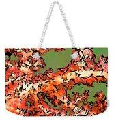Beautiful Soft Cora 1 Weekender Tote Bag by Lanjee Chee