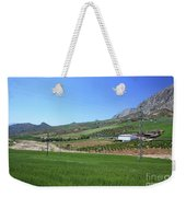 Beautiful Spanish Countryside Weekender Tote Bag