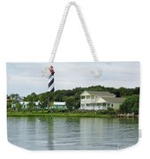 Beautiful St Augustine Lighthouse Waterfront Weekender Tote Bag