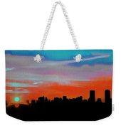 Beautiful Sunset Oil Paint Weekender Tote Bag