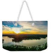 Beautiful Sunset Over Lake Wylie South Carolina Weekender Tote Bag