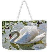 Beautiful Swan Weekender Tote Bag