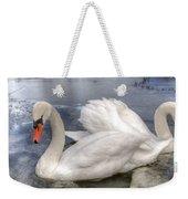 Beautiful Swans Weekender Tote Bag