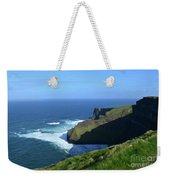 Beautiful Sweeping Views Of Ireland's Cliff's Of Moher Weekender Tote Bag