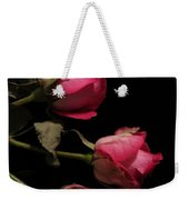 Beautiful Two Tone Roses 4 Weekender Tote Bag