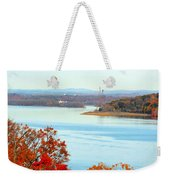 Beautiful View Of The Hudson River 1 Weekender Tote Bag