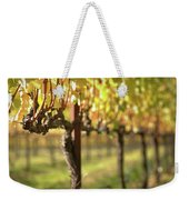 Beautiful Vineyard In Napa Valley Weekender Tote Bag