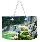 Beautiful Waterfall Crystal Waters Weekender Tote Bag