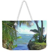 Beautiful Waters Of Puerto Rico Weekender Tote Bag
