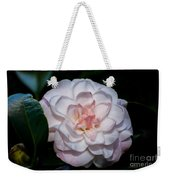 Beautiful White Camellia Weekender Tote Bag