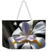 Beautiful White Day Lily Weekender Tote Bag