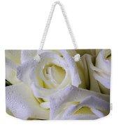 Beautiful White Roses Weekender Tote Bag