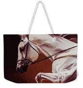 Beautiful White Running Horse 9iu Weekender Tote Bag