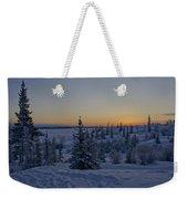 Beautiful Winter Sunrise Weekender Tote Bag
