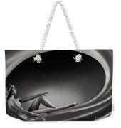 Beautiful Woman In A Whirl Of Power Weekender Tote Bag