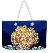 Beautiful Yellow Coral 1 Weekender Tote Bag by Lanjee Chee
