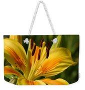Beautiful Yellow Lily Weekender Tote Bag