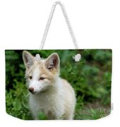 Beautiful Young Fox Portrait Weekender Tote Bag